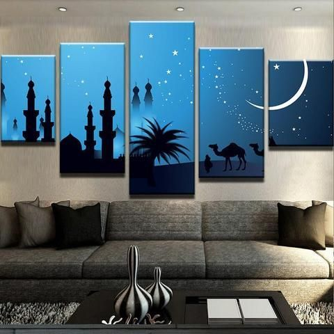 Midnight Silhouette Canvas