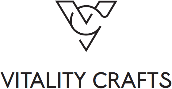 Vitality Crafts Logo - Links to homepage